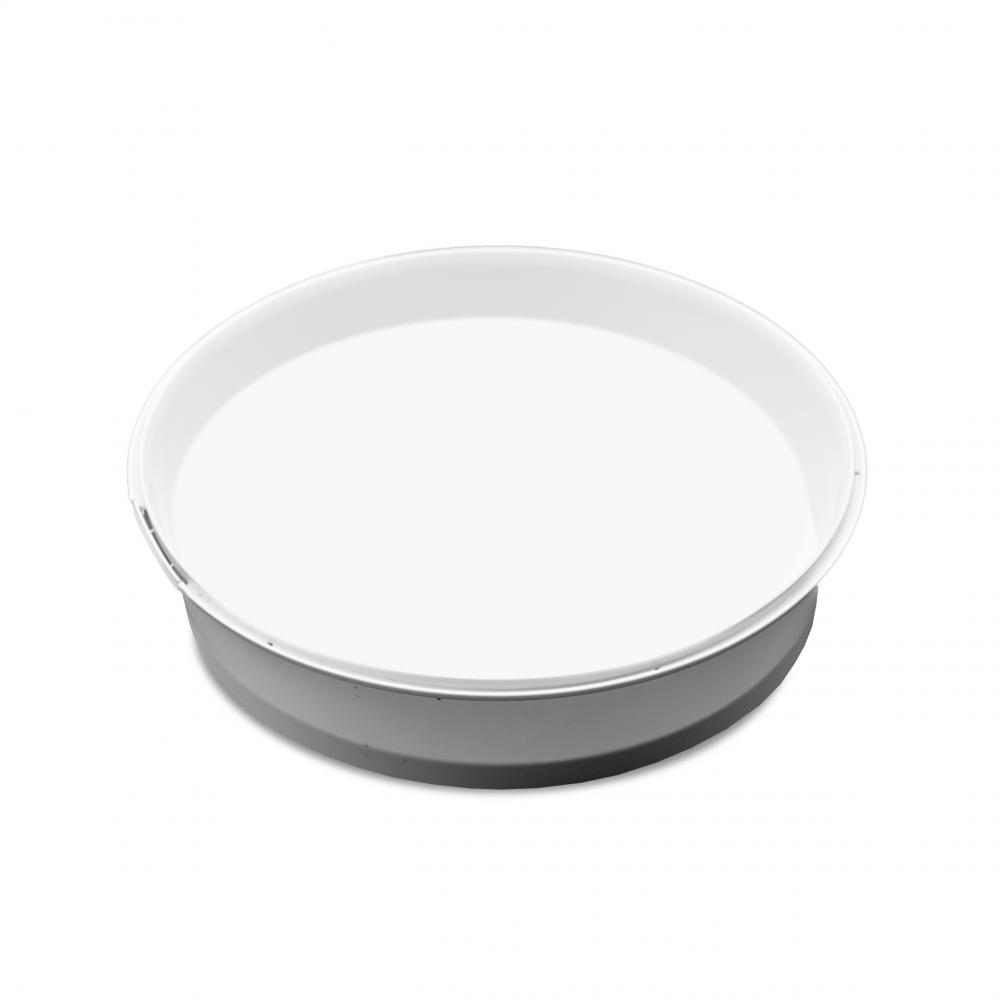 Tarrina cierre precinto 400ml blanca