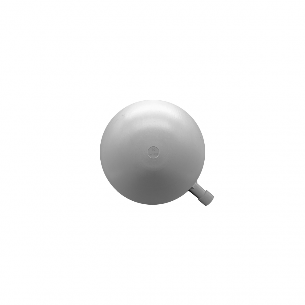 Boya redonda plástico 90mm rosca 6/100