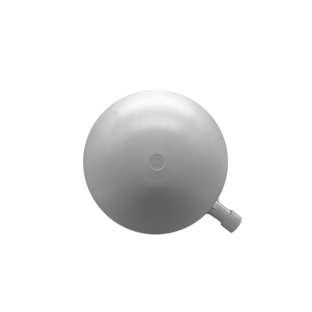 Boya redonda plástico 110mm rosca 3/16
