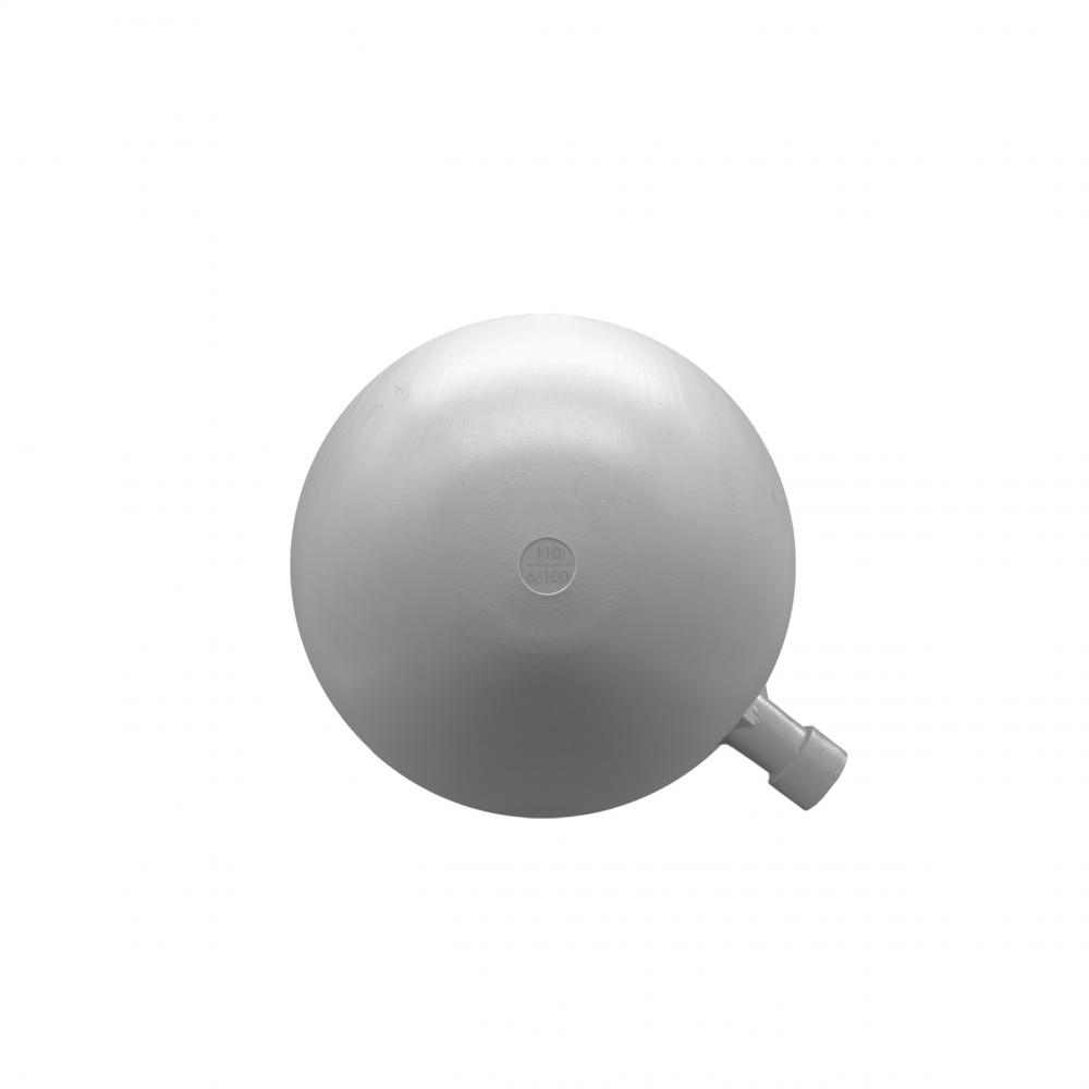 Boya redonda plástico 110mm rosca 6/100