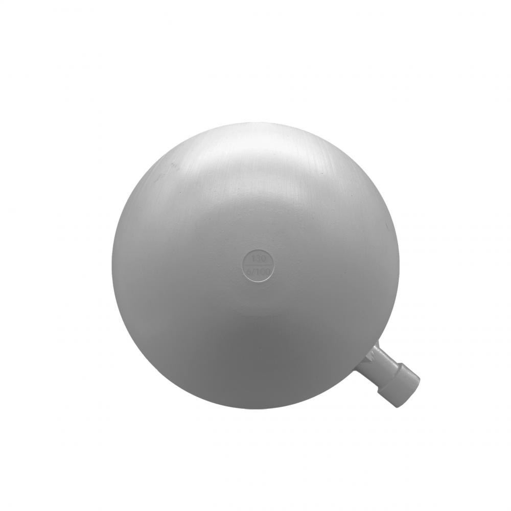 Boya redonda plástico 130mm rosca 6/100